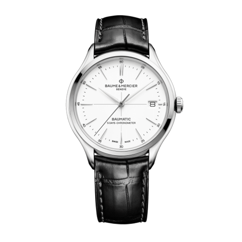 瑞士 名士(Baume&Mercier) CLIFTON BAUMATIC系列 男士 自动机械表 MOA10436