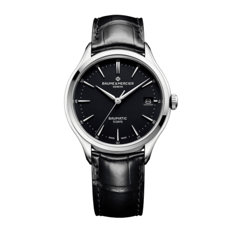 瑞士 名士(Baume&Mercier) CLIFTON BAUMATIC系列 男士 自动机械表 MOA10399